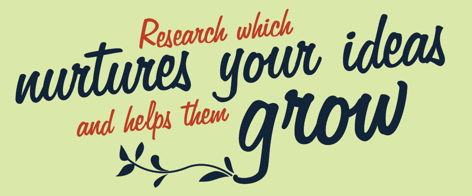 Vine - Research which nurtures your ideas and helps them grow